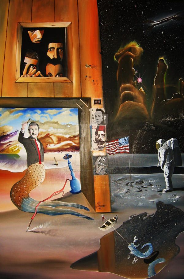 The Albatross by PatrickCallArt