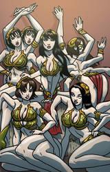 Group Leia bikini by EWG