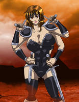 Warrior Victoria by DesingAHV by LoneStranger