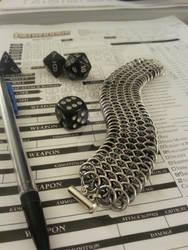 Dragonscale Bracelet in Gunmetal