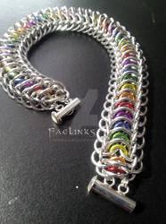 Illuminated Tunnel Chainmaille Bracelet