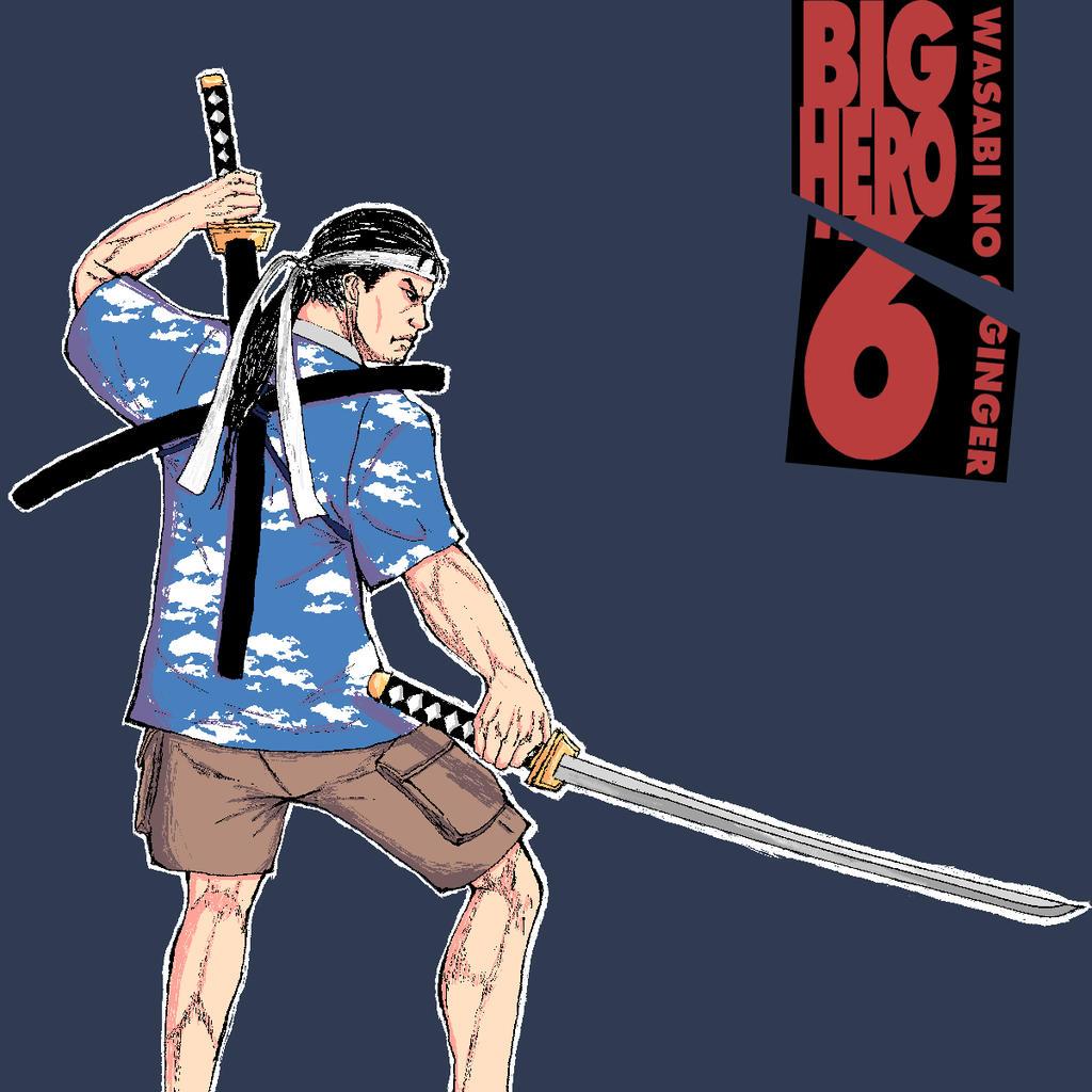 Wasabi no Ginger - Big Hero 6 by DaniBirrul on DeviantArt