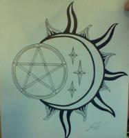 Wicca Tattoo by CustomDjinni