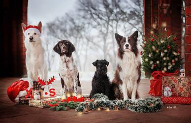 Merry Chistmas everyone by Lain-AwakeAtNight