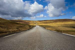 On the Road by Lain-AwakeAtNight