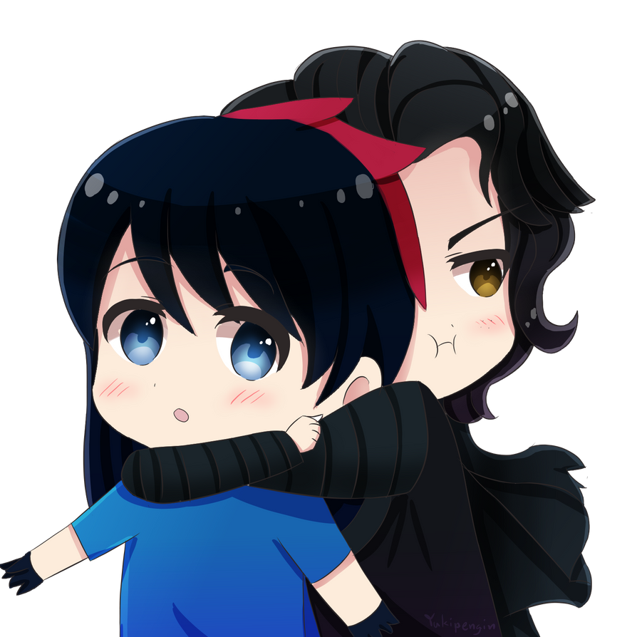 [AT] LexiaX3- OC Lexia And Kylo Ren By Yukipengin On