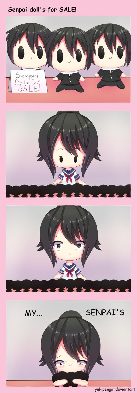 Senpai doll's for SALE! by Yukipengin