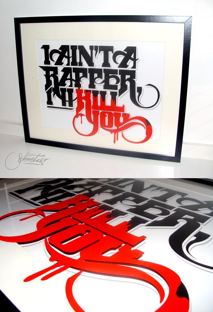 Framed Rapper by suqer