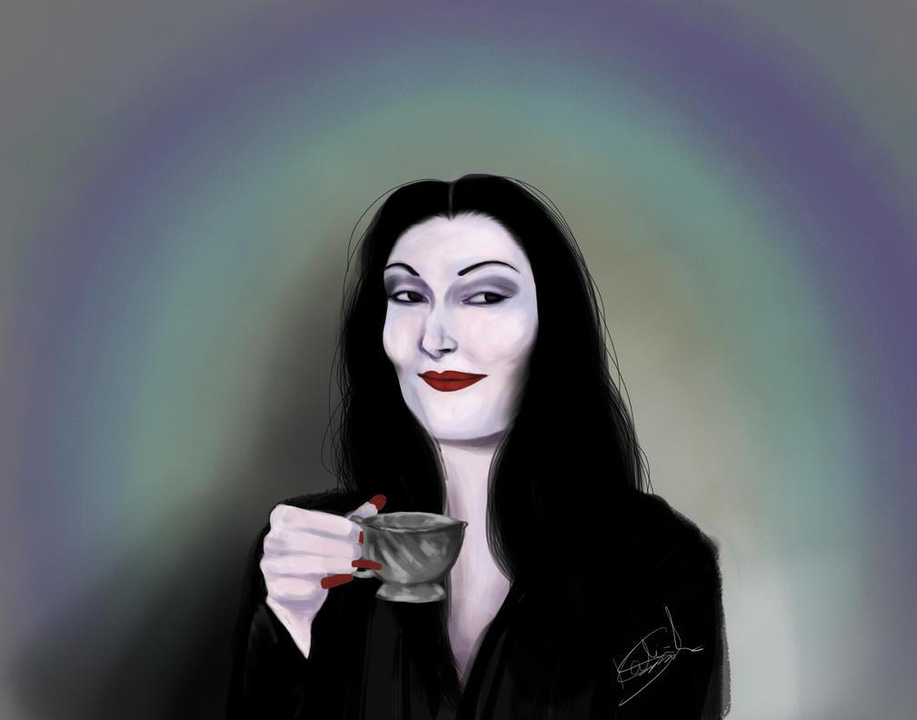 Morticia Addams by kproj on deviantART