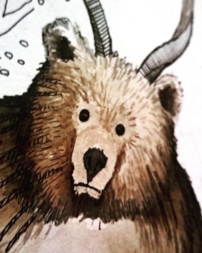 Bear by eamanee