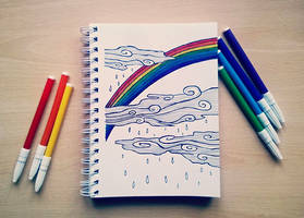 Somewhere over the rainbow by beathaart
