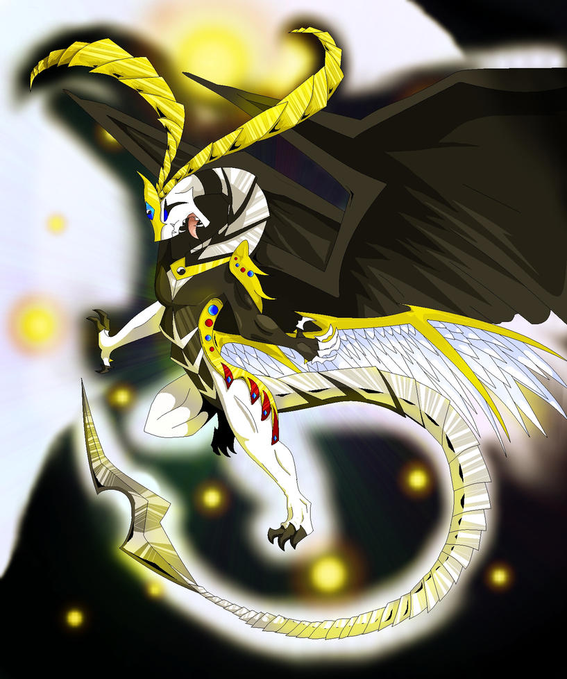 yin yang dragon without card by AbsentHavoc on DeviantArt