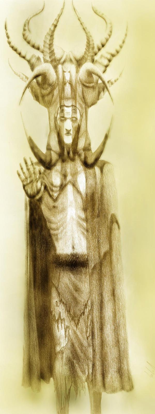 Necromancer by yu-yi
