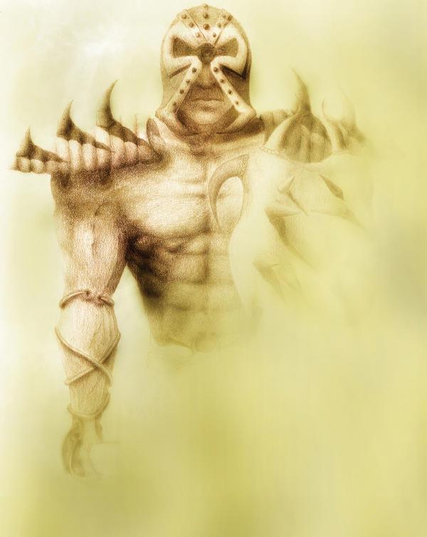 Cyclops warrior by yu-yi