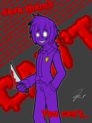 Vincent purple guy by Memph-the-Light