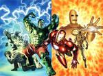 Iron Man and Incredible Hulk