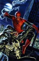 Spidey vs Venom by felipemassafera