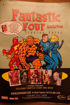 Fantastic Four Archives Ad