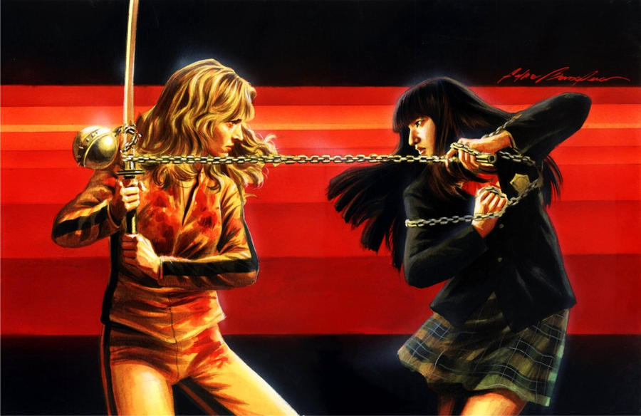 Kill Bill Commission by felipemassafera