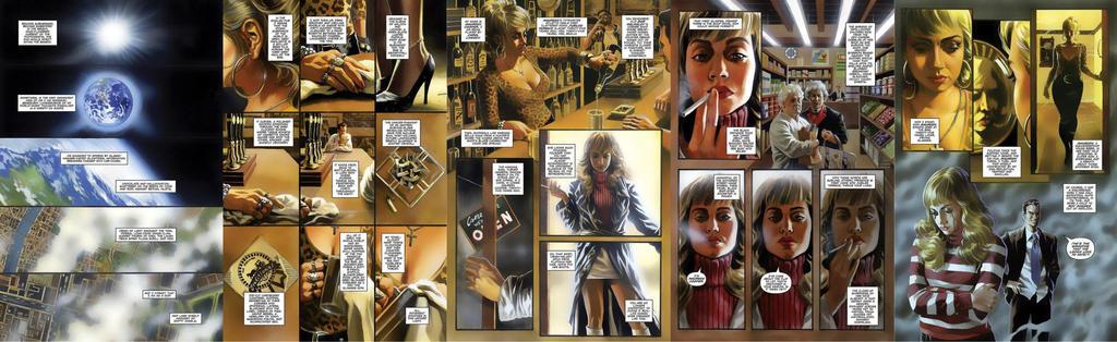 Graphic novel sample pgs