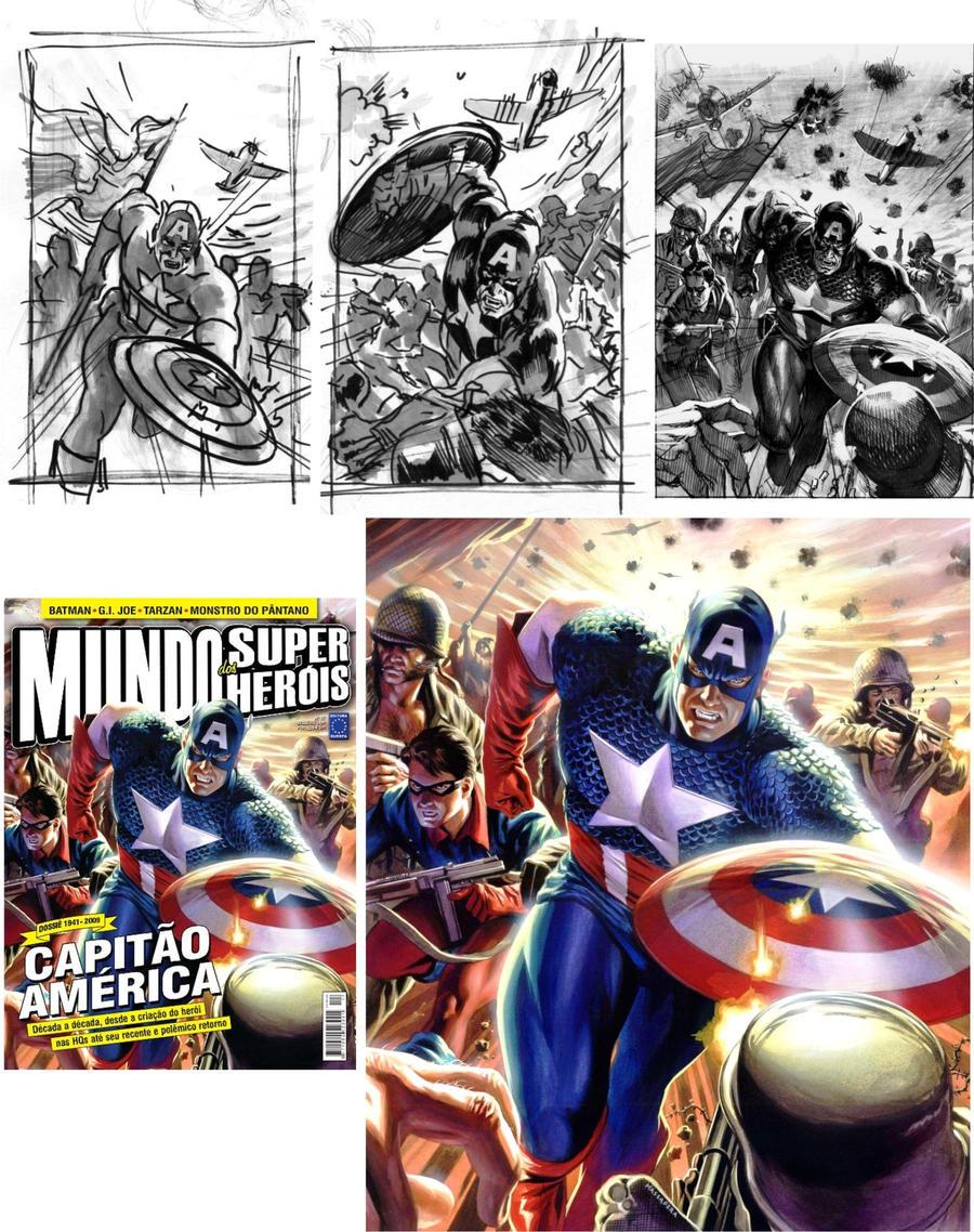 Part 14 / 9 Captain_America_by_felipemassafera