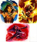 X-men artist proof cards