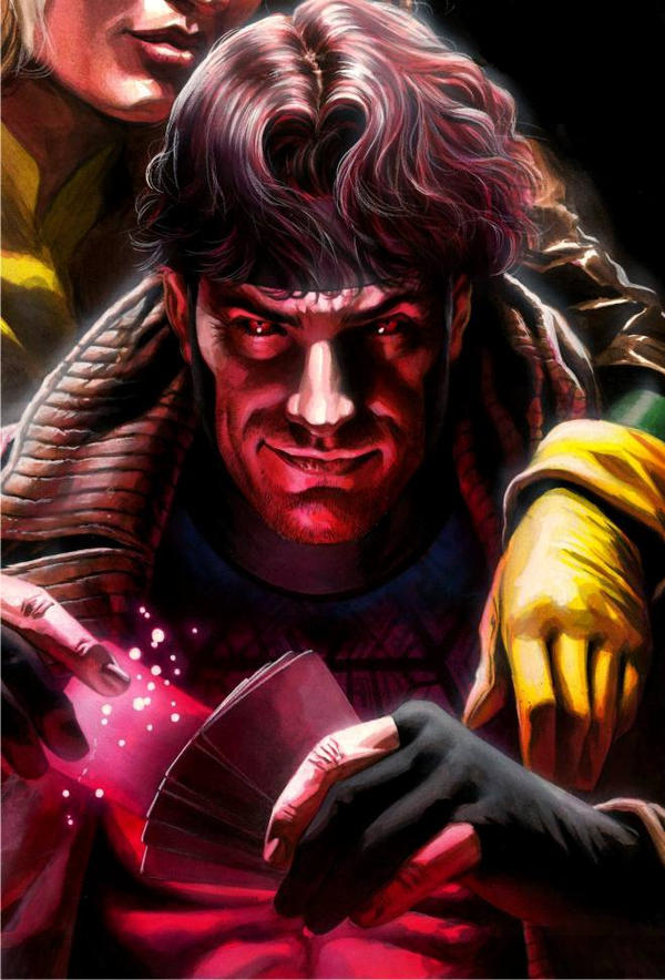 Gambit playing cards by felipemassafera