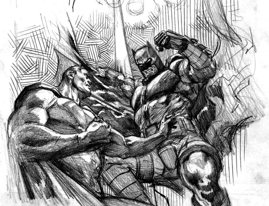 imagenes originales de batman vs superman
