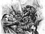 Superman vs. Batman rough