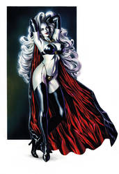 Lady Death by felipemassafera