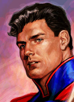 Superman color detail
