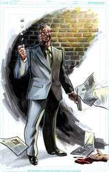 NYCC Commission Two Face by felipemassafera