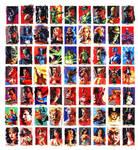 Justice League Sketchcards