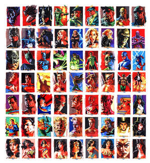 Justice League Sketchcards