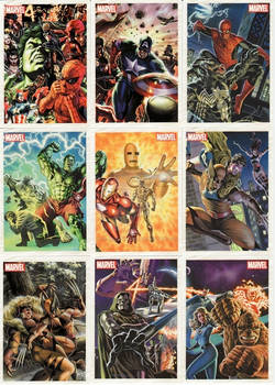Marvel Originals - Card Subset