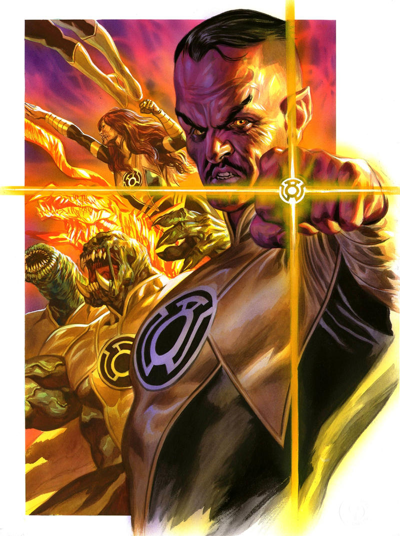 Liga de la Injusticia [6/∞] - Página 2 Sinestro_corps_by_felipemassafera-d4lawky