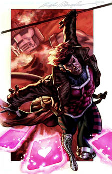 Gambit commission colors