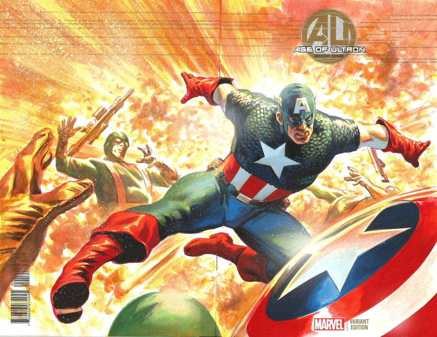 Captain America by felipemassafera