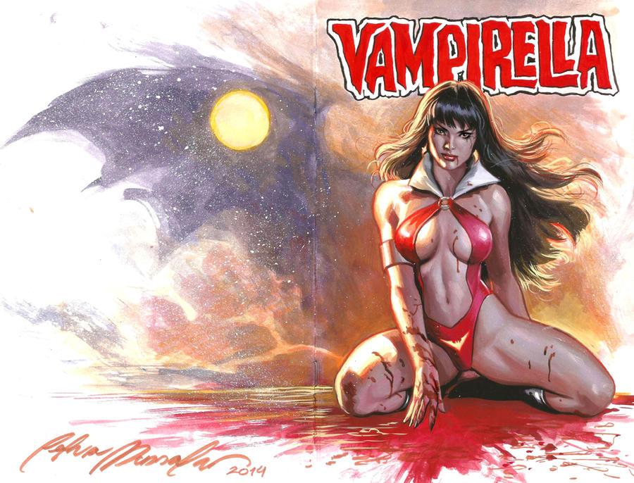 Vampirella commission by felipemassafera