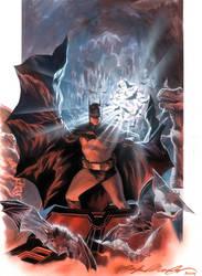 Batman commission by felipemassafera