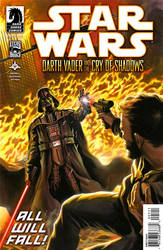Darth Vader and the Cry of Shadows #5 by felipemassafera