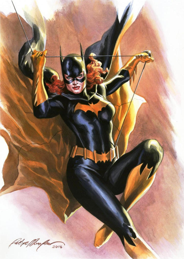 Batgirl commission by felipemassafera
