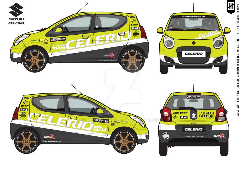 Decal Experiment 01: Suzuki Celerio (Alto) GWB by ...