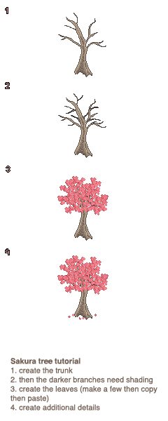 Sakura Tree Making Tutorial by Messymaru on DeviantArt