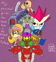 Ideas for Smash Bros by TheSurfingWaffleAH