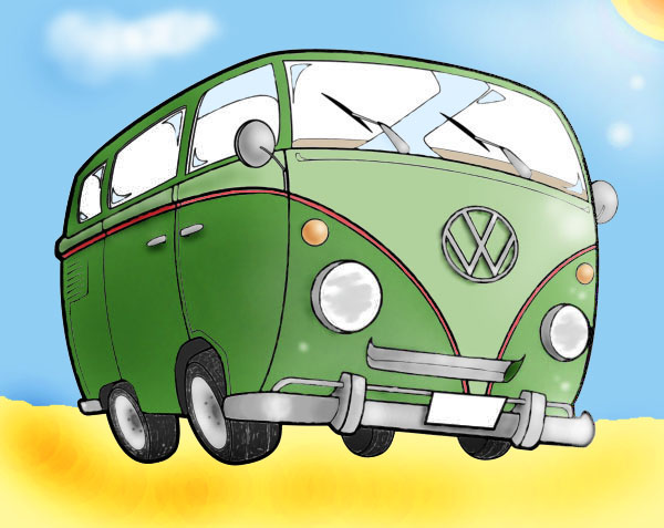 VW Camper Van By Wrighty21274