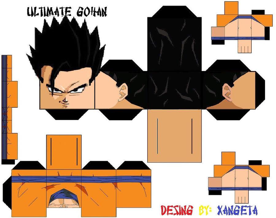 super saiyan ultimate gohan. confirms ultimate gohan
