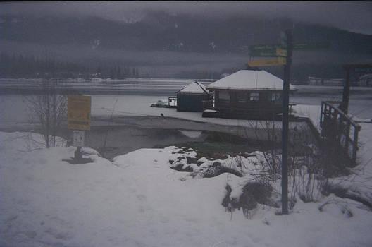 Whistler in winter.