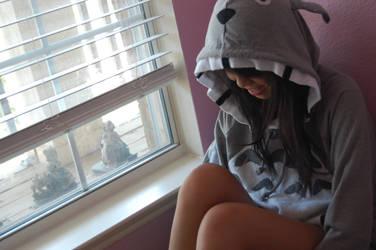 Totoro Hoodie .1 by SnowLikeHair