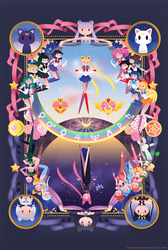 Sailor Moon by stephahaha